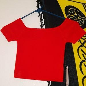 Shirt cropped